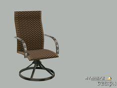 NynaeveDesign's Luau Woven Chair(安らぎ - 屋外用家具)