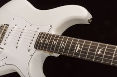"""PRS announced today the release of John Mayer's """"Silver Sky"""" Signature PRS... Alder body, maple neck, Rosewood fingerboard, 7.25@ radius, 3…"""