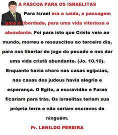 PASCOA PARA OS ISRAELITA