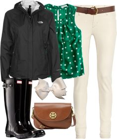 """""""Rainy Ed Sheeran Concert!"""" by classically-preppy ❤ liked on Polyvore"""