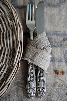 ...a rustic touch. #home #decor