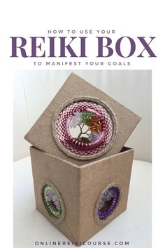 How to use your Reiki box to manifest your goals and desires. http://onlinereikicourse.com/using-your-reiki-box-to-manifest-goals/