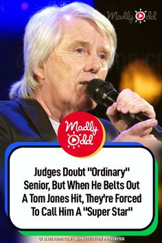 His voice beyond amazing. The four judges didn't quite know what to expect from this seemingly ordinary-looking grandpa. #singing #agt #igt #ireland #tomjones #sing #music Talent Show, America's Got Talent, Live Music, Good Music, Louis Walsh, Denise Van Outen, Britain Got Talent, Show Video, Judges
