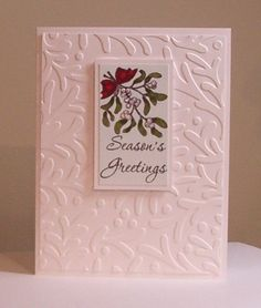 CAS Christmas Mistletoe by LynniePoo - Cards and Paper Crafts at Splitcoaststampers