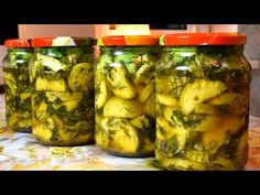 Zucchini Aubergine, Salty Foods, Preserving Food, Conservation, Pickles, Preserves, Cucumber, Food And Drink, Cooking Recipes