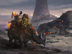 Goblin merchant by Tsabo6.deviantart.com on @DeviantArt