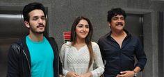 Akhil Success Meet Photos