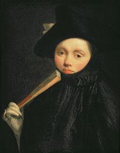 Giovanni Battista Tiepolo (1696-1770) - Young Lady in a Tricorn hat , 1755-56