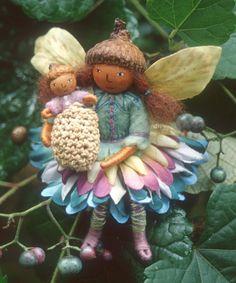 Felt Wee Folk Blossom Fairies Poster