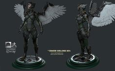 Hawkgirl by andres | Sci-Fi | 3D | CGSociety