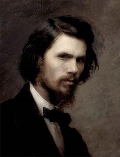 Ivan Kramskoy · Autoritratto · 1867 · Ubicazione ignota