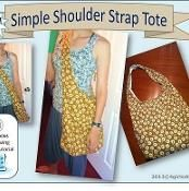 2018 Revised Simple Shoulder Strap Cross Body Tote HOBO Bag Sewing Pattern This IS the best! Bag Sewing Pattern, Bag Patterns To Sew, Pdf Sewing Patterns, Sewing Tutorials, Sewing Hacks, Sewing Projects, Sewing Ideas, Bags Online Shopping, Online Bags