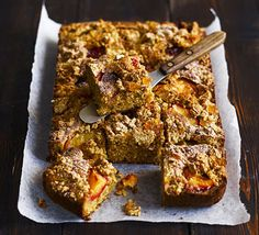 A rustic traybake for any time of day. Try a square at coffee break, or with a jug of steaming custard after dinner.