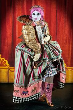 New featured project - Amazing embroidered steampunk clown costume