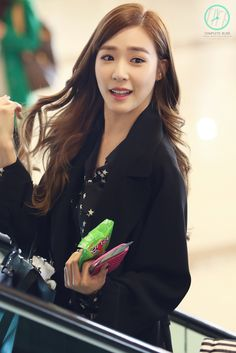 150304 Tiffany @ Gimpo Airport。(via Complete Bliss)