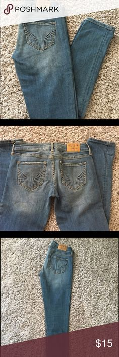 Hollister skinny Jeans Great condition light blue skinny jeans Hollister Jeans Skinny