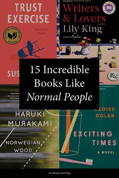 Loved 'Normal People' by Sally Rooney (or the Hulu series adaptation) and looking for your next book to read? Start with this list. #books #normalpeople #booklist