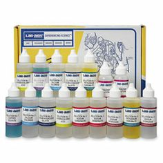 Refill (Chemicals Only) for Identification of Chemical Reaction Kit - Lab-Aids® No. 84 ~ Chemical Reactions ~ Kits