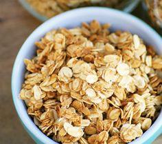 5. Vanilla Honey Granola #healthy #granola #recipes http://greatist.com/eat/homemade-granola-recipes-that-are-healthy
