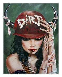 viveros UNCLEAN 2011 24_x31.5_ oil_mixed media on maple