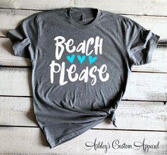 Beach Please Cute Beach Shirts Take Me To The Beach Beach | Etsy