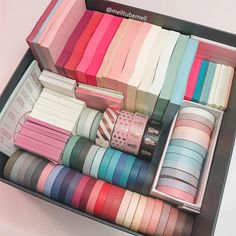 Shop our beautiful solid color washi tapes. All of our washi tapes are shipped for free internationally. Stationary Organization, School Organization Notes, Stationary Supplies, Cute Stationary, Desk Organization, Stationary Gifts, Stationary School, Bullet Journal Writing, Bullet Journal Ideas Pages