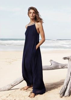 Daria Werbowy Hits the Beach in Mango's Summer 2014 Catalogue Daria Werbowy Hits the Beach in Mangos Summer 2014 Catalogue Daria Werbowy, Look Boho, Look Chic, Gouts Et Couleurs, Street Mode, Fashion Mode, Womens Fashion, Ethno Style, Summer Outfits