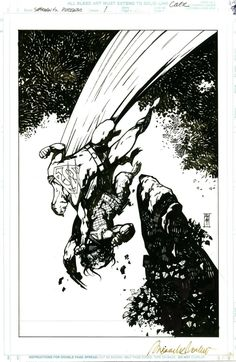Superman Predator Vol1 COVER Comic Art
