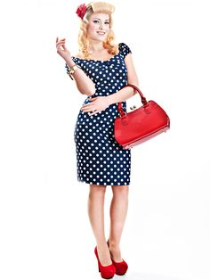 Fitted Dresses Polka Dolores Dress Polka