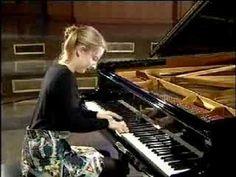Lise de la Salle Prelude et fugue en la mineur ( transcription de Liszt)