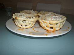 Cestini di sfoglia speck e zucchine (ricette di misya)