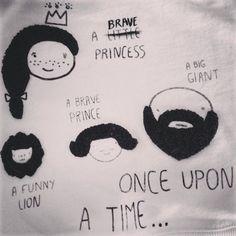 Once upon a time... a BRAVE princess... #hackea y crea tu propia historia! Contra los mensajes #sexistas en la #moda, menos aún en la #modainfantil!