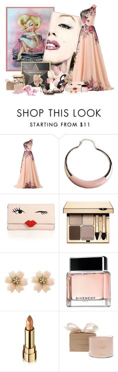 """""""Sans titre #261"""" by frane-x ❤ liked on Polyvore featuring CO, Pour Les Femmes, Kate Spade, Clarins, Givenchy, Dolce&Gabbana and Calypso Perfume Prod Inc."""