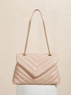 Chanel, Shoulder Bag, Classic, Chevron, Bags, Fashion, Derby, Handbags, Moda