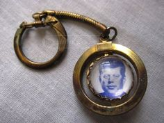 #JFK #vintage #keychain http://www.shopgoodwill.com/auctions/Vintage-JFK-Ask-Not-What-Your-Country-Keychain-29634304.html