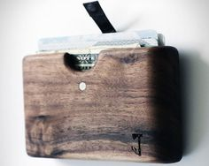 Wood Wallet By Slim Timber – $45