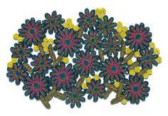 Florigraphie Passiflora Straw Table Mat