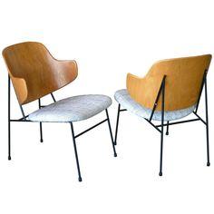 1stdibs   Pair of Ib Kofod-Larsen Penguin Chairs
