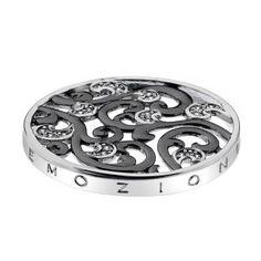 www.hotdiamonds.co.uk or www.emozioni.com 33mm Caleidoscopio Edera Oxidised Silver Plated coin £49.95