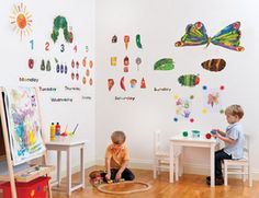 Very Hungry Caterpillar Wall Decals