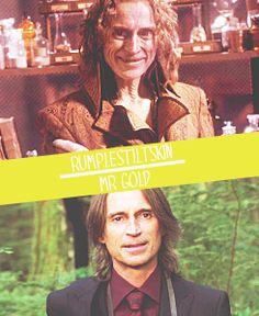 Rumpelstiltskin/Mr.Gold  Funny how you can be both intriguing and disturbing  at the same time....