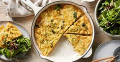 Sneak in some extra vegetables with Curtis Stone's cheesy broccoli and potato frittata. Potato Frittata, Frittata Recipes, How To Cook Ribs, How To Cook Shrimp, Curtis Stone Recipes, Cooking With Kids Easy, Broccoli And Potatoes, How To Cook Barley, Cooking Stone