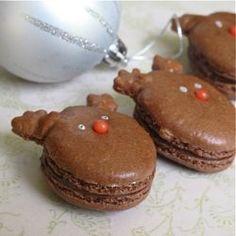#Reindeer #Macarons