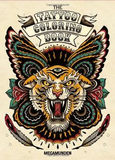 The Tattoo Coloring Book [With 2 Pull-Out Posters] - Livros em inglês na Amazon.com.br
