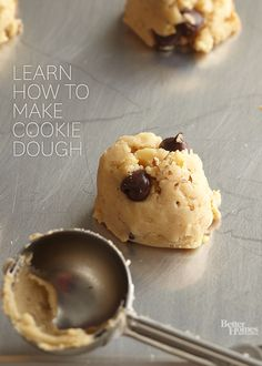 Learn how to make cookie dough for many of your cookie favorites. This basic dough can be made in just six simple steps.