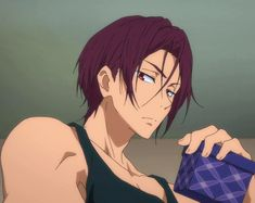 Hot Anime Guys, I Love Anime, Rin Matsuoka, Free Iwatobi Swim Club, Water Type, Kaichou Wa Maid Sama, Free Anime, Free Baby Stuff, Manga
