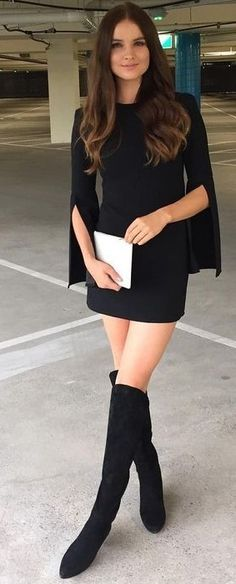 #summer #lovely #fashion |  Little Black Dress