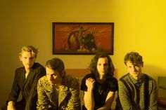 Foster The People ( Mark Foster, Foster The People, The Fosters, Band Photography, Kings Of Leon, Band Photos, Indie Music, Music Bands, Music Artists