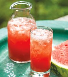 RECIPE watermelon fizz with ginger