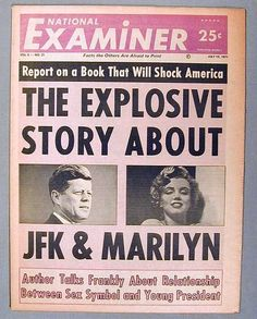 Marilyn Monroe and JFK. There were reports of an affair between Marilyn and President John F. Marilyn Monroe And Jfk, Old Newspaper, Newspaper Headlines, Newspaper Archives, Newspaper Article, 10 Interesting Facts, Drame, John F Kennedy, Kennedy Jr